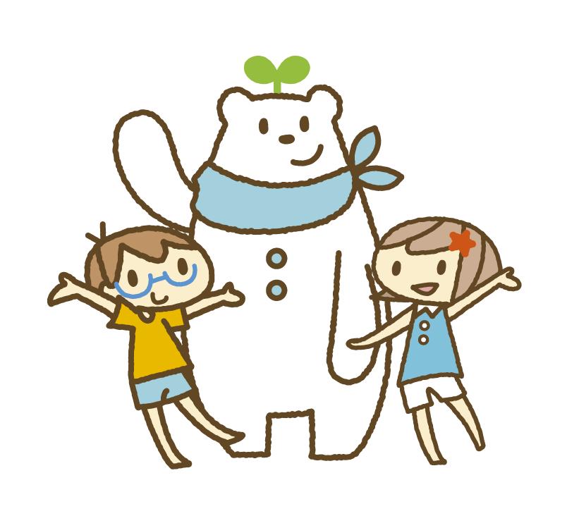 子ども向けのカットイラスト制作します シンプルで可愛い・子どもや動物のデフォルメイラスト