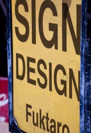 看板サイン等のデザイン提案いたします 御要望等をうかがい、デザイン等いたします。