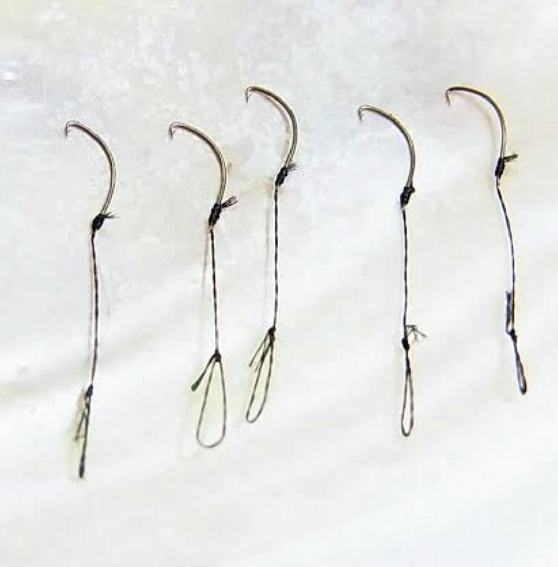タナゴ針の簡単な結び方教えます 多摩川の帝王秘伝のタナゴ針を正確に内掛け結びする方法を伝授