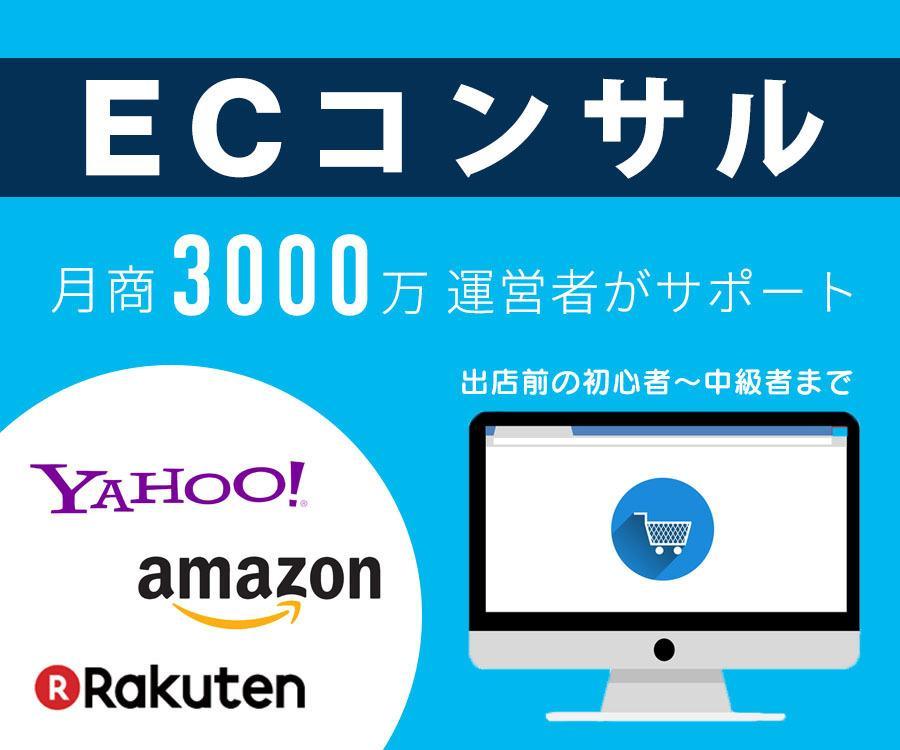 ECコンサル★ネットショップ売上アップに貢献します 【amazon 楽天 ヤフー】全て対応★ノウハウも提供♪ イメージ1