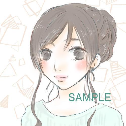 SNS、ブログのアイコン作成します 1件ずつ丁寧に描かせていただきます♪