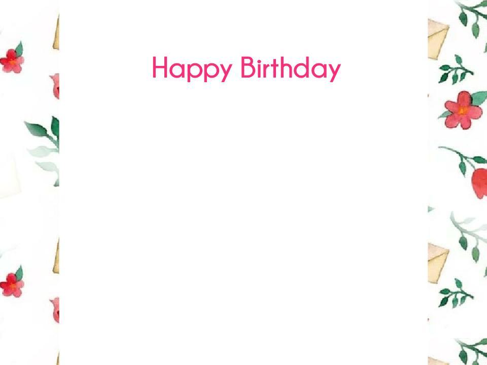 即時対応!誕生日フォトつくります 大切な人の誕生日フォトをお作りします!