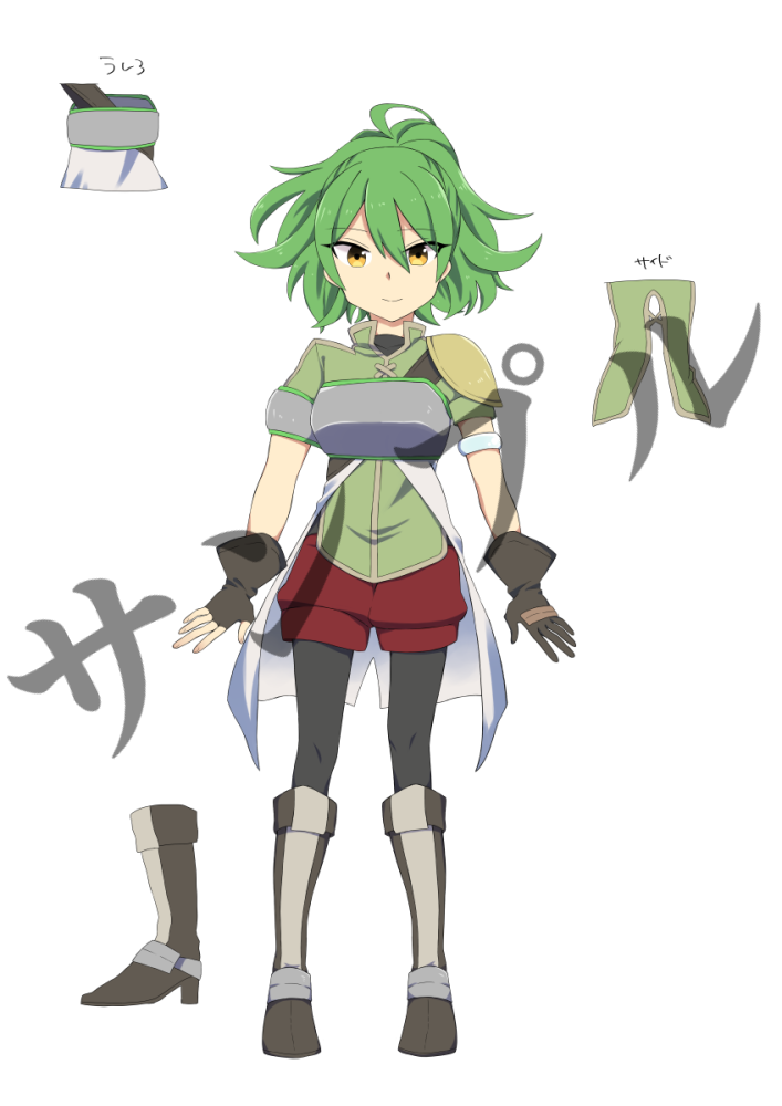 キャラクターデザインをお受けします ファンタジー系の少年や少女が得意です