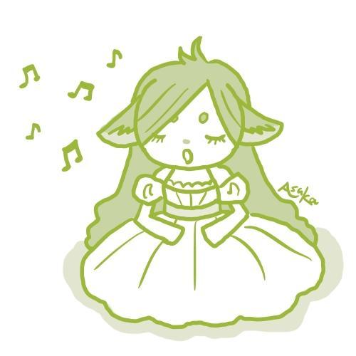 可愛いオリジナルキャラクターを描きます メルヘンで可愛いイラストが好きな方にオススメ!
