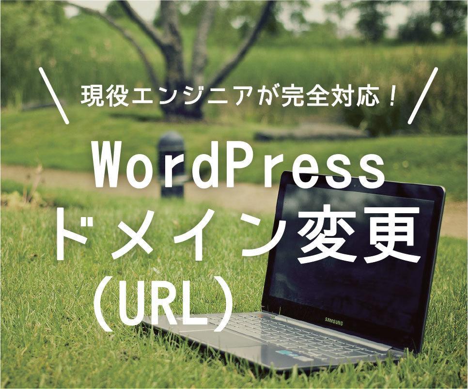 WordPressのドメイン(URL)を変更します 対応サイト1000件突破。現役エンジニアによる完全サポート! イメージ1