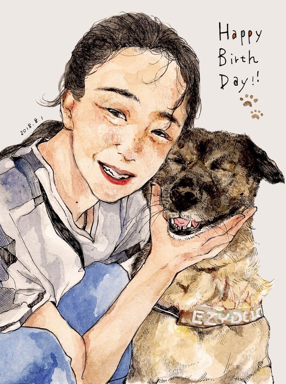 似顔絵イラストを描かせていただきます 恋人や家族、ご友人との思い出作りに。