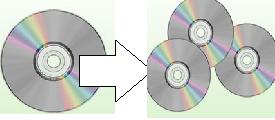 CD/DVDのコピー&プリント(ラベル印刷) メディア+不織布ケース込・送料別 イメージ1
