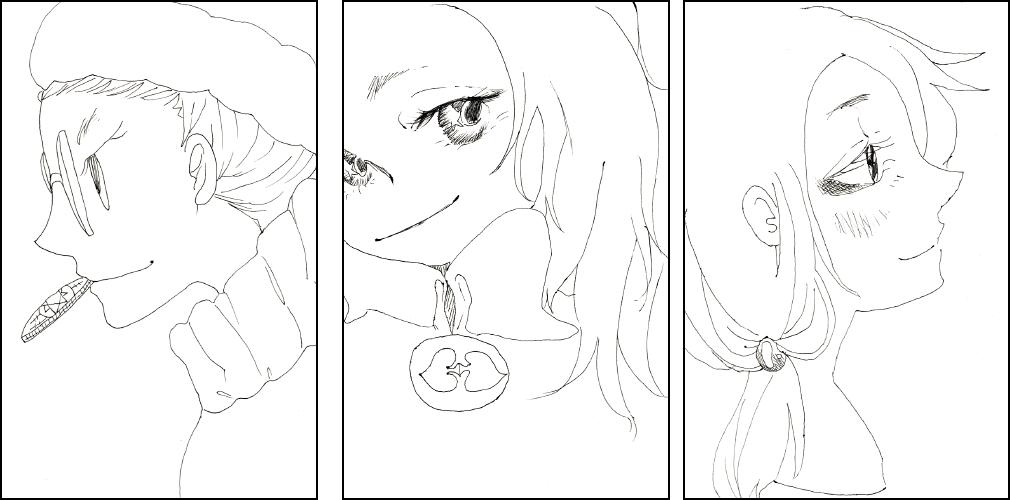 【ボールペン】シンプルな線のイラスト描きます【A5まで】