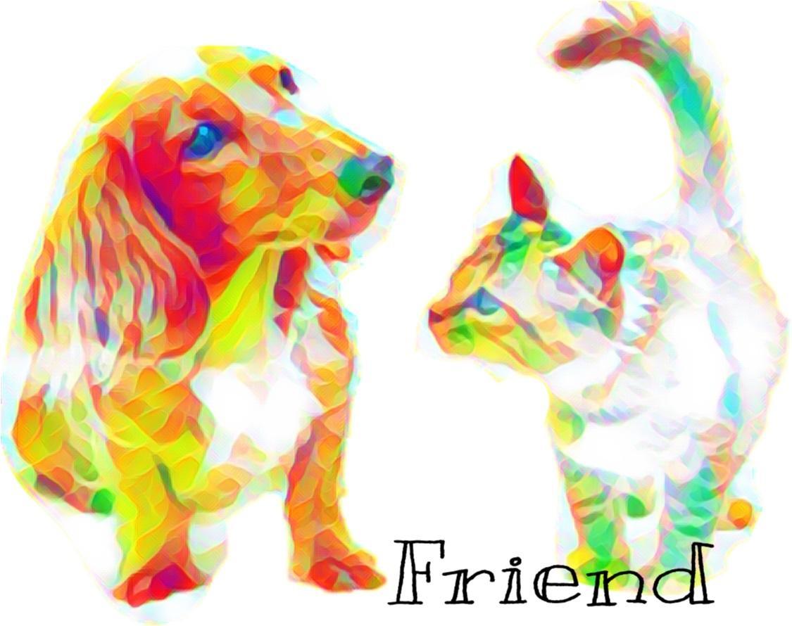 可愛いペットの写真を温かなアートにいたします 可愛いペットをアートにしませんか♪ペットのイラスト