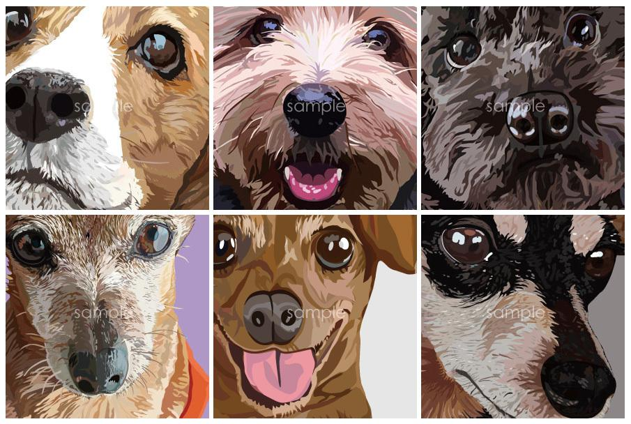 あなたの大好きなペットのCGイラストを描きます 大好きなペットの記念日に。もう逢えないペットともずっと一緒。