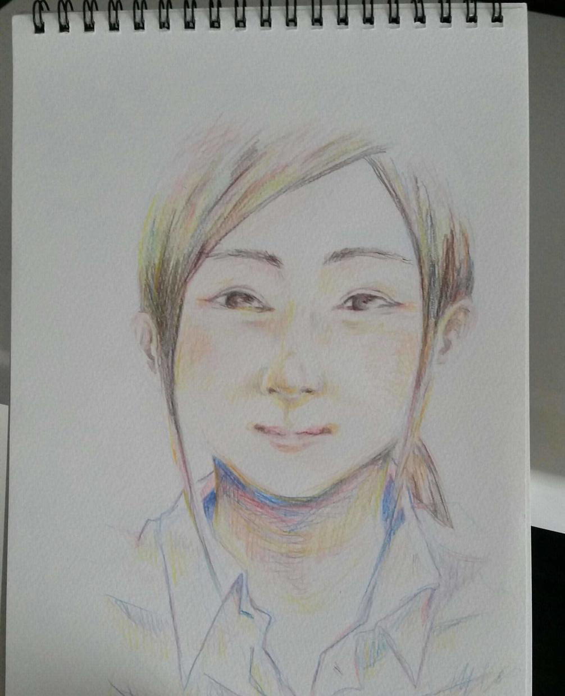 似顔絵イラスト描かせて頂きます 似顔絵にした自分自身の似顔絵、記念に欲しくないですか?
