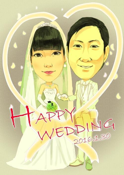 今だけ500円!門出を華やかに。結婚式のウォルカムボード描きます!