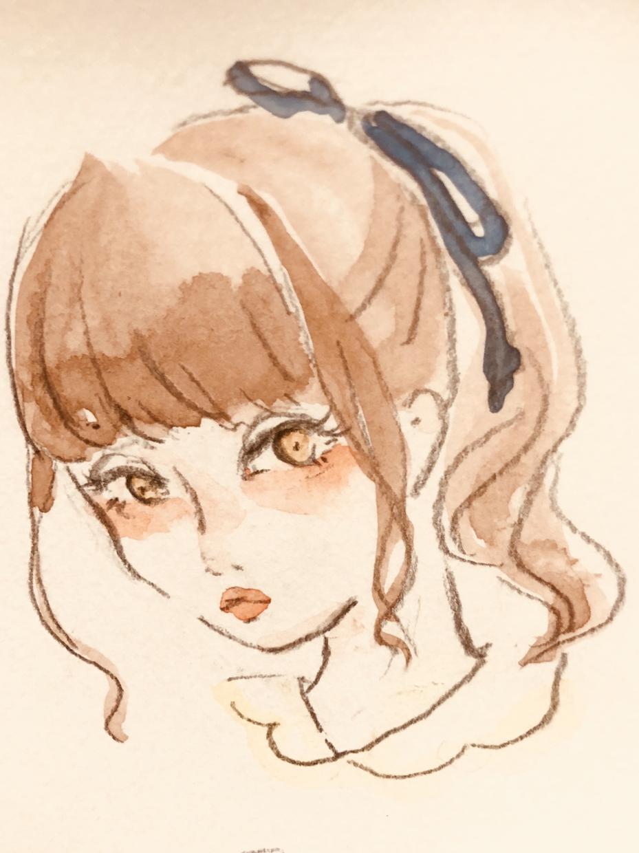 アイコン等に!水彩の可愛いイラスト描きます 水彩タッチで手描きの温かみが好きな方へ