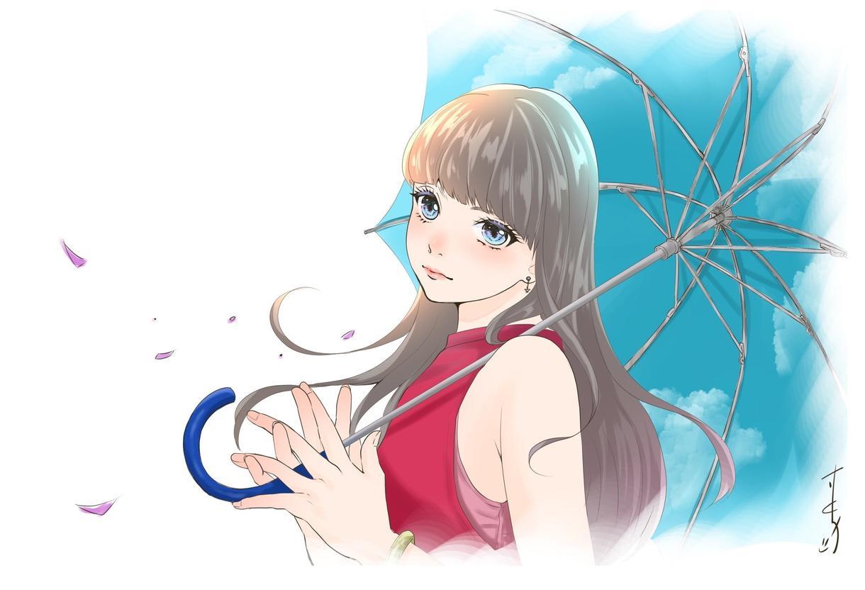 女の子のアイコン描きます ミニキャラもOK!あなたの可愛いを具現化しませんか?