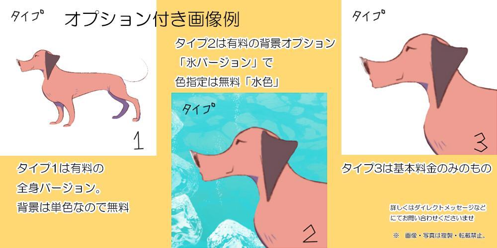 夏限定プロが【2000円】アイコン似顔絵も描きます プロイラストレーターに依頼はいかが?
