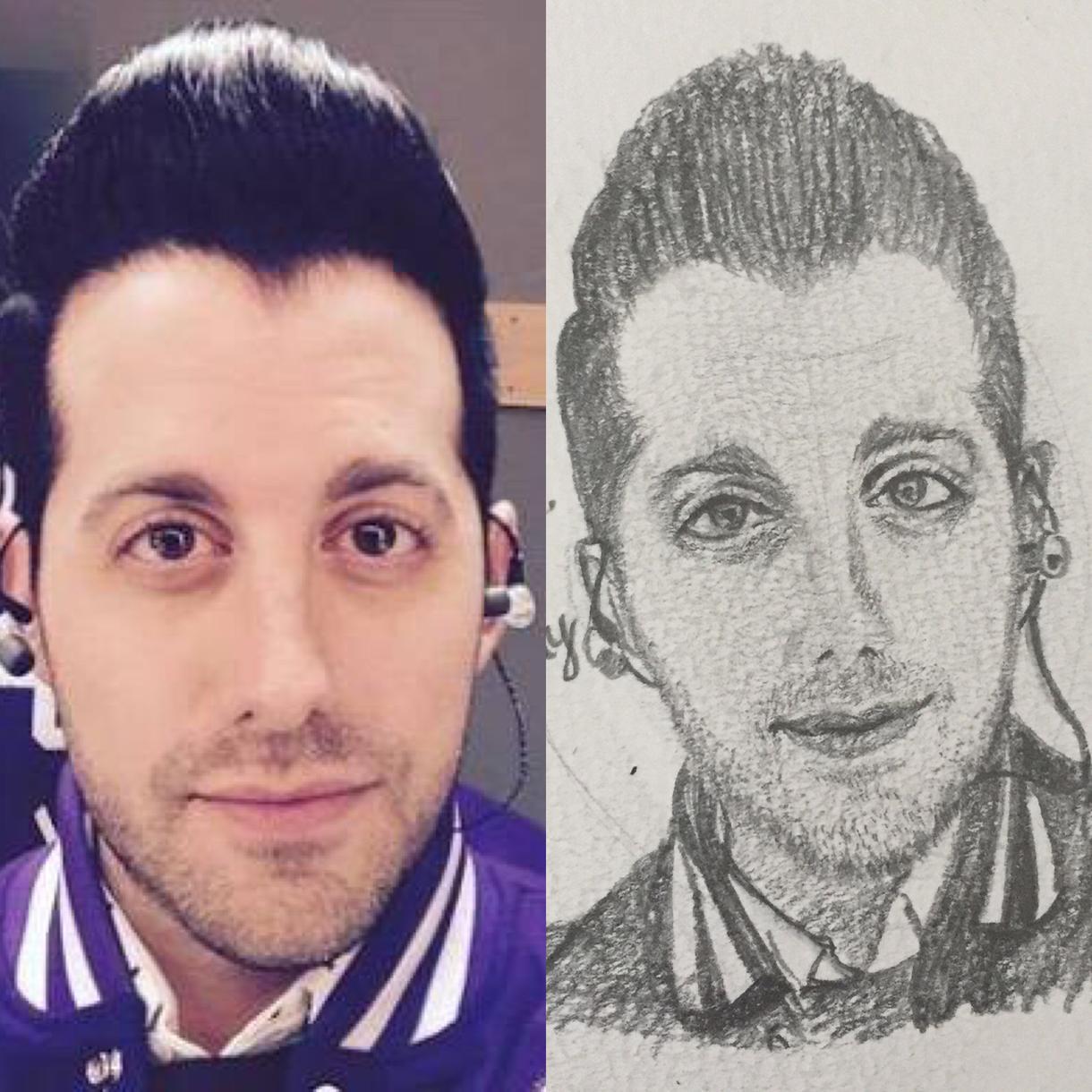 リアルな似顔絵描きます。1人ワンコイン
