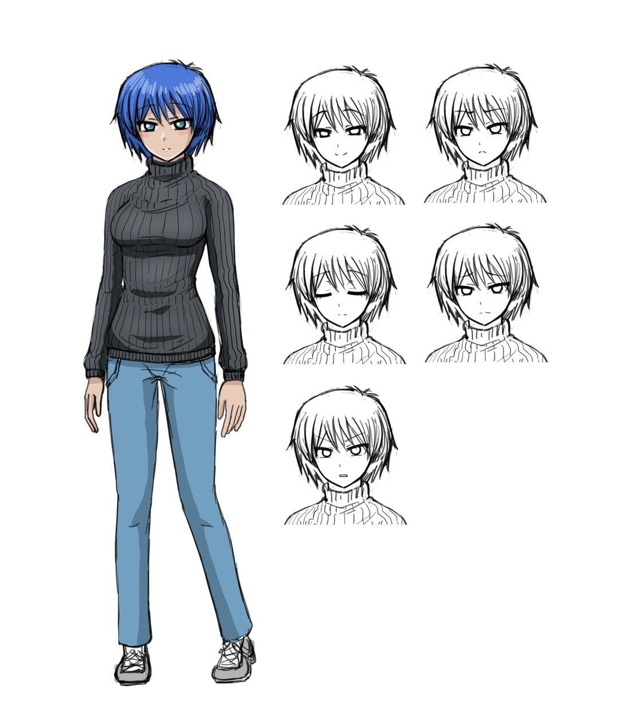 キャラクターデザイン、立ち絵を制作します キャラクターのデザインや立ち絵をご所望の方ご依頼ください。