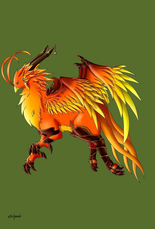 ドラゴンや龍などの大型幻獣のキャラ制作します あなただけのオリジナル幻獣キャラを制作しませんか?