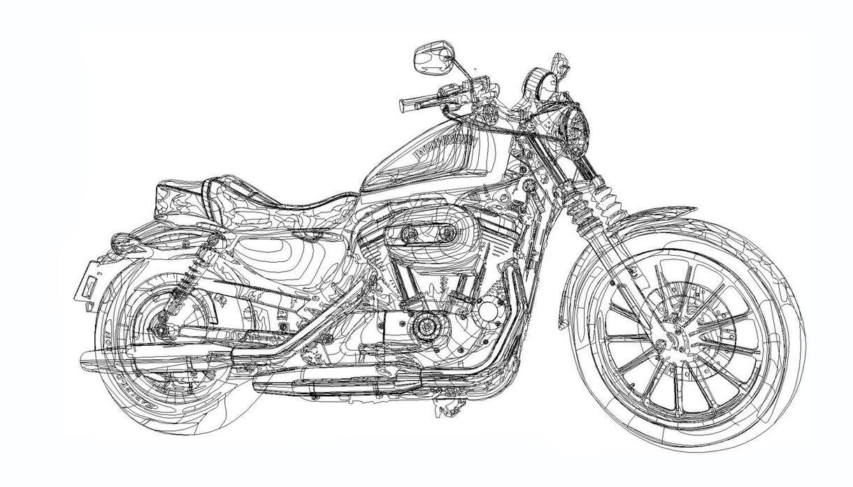 車、バイクなどのイラスト描きます 何かの記念にいかがでしょうか?