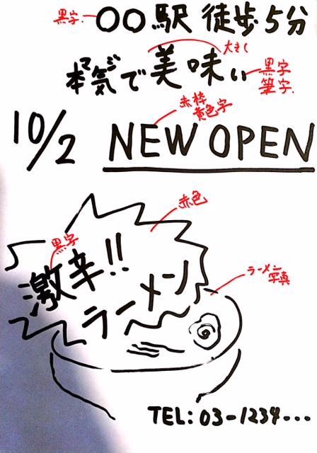 【チラシ・ポスター作成】手書きイメージからデジタルデータを起こします!