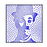 写真から点画のアニメGIFを作成します ブログのプロフィールなど、もっとフォロワーを増やしたい時に!