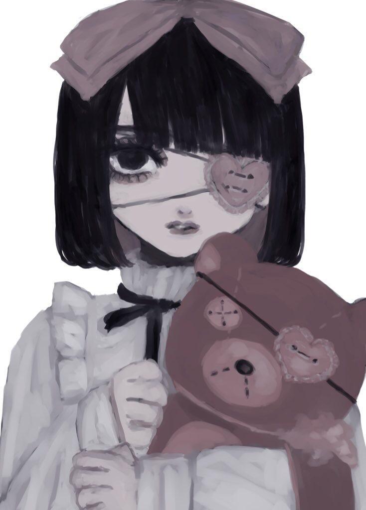 一枚絵イラスト制作致します 彩度低めの女の子を描くのが得意です! イメージ1