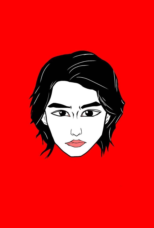 シンプルな似顔絵描きます 独特の雰囲気で今までにないものをどうぞ。