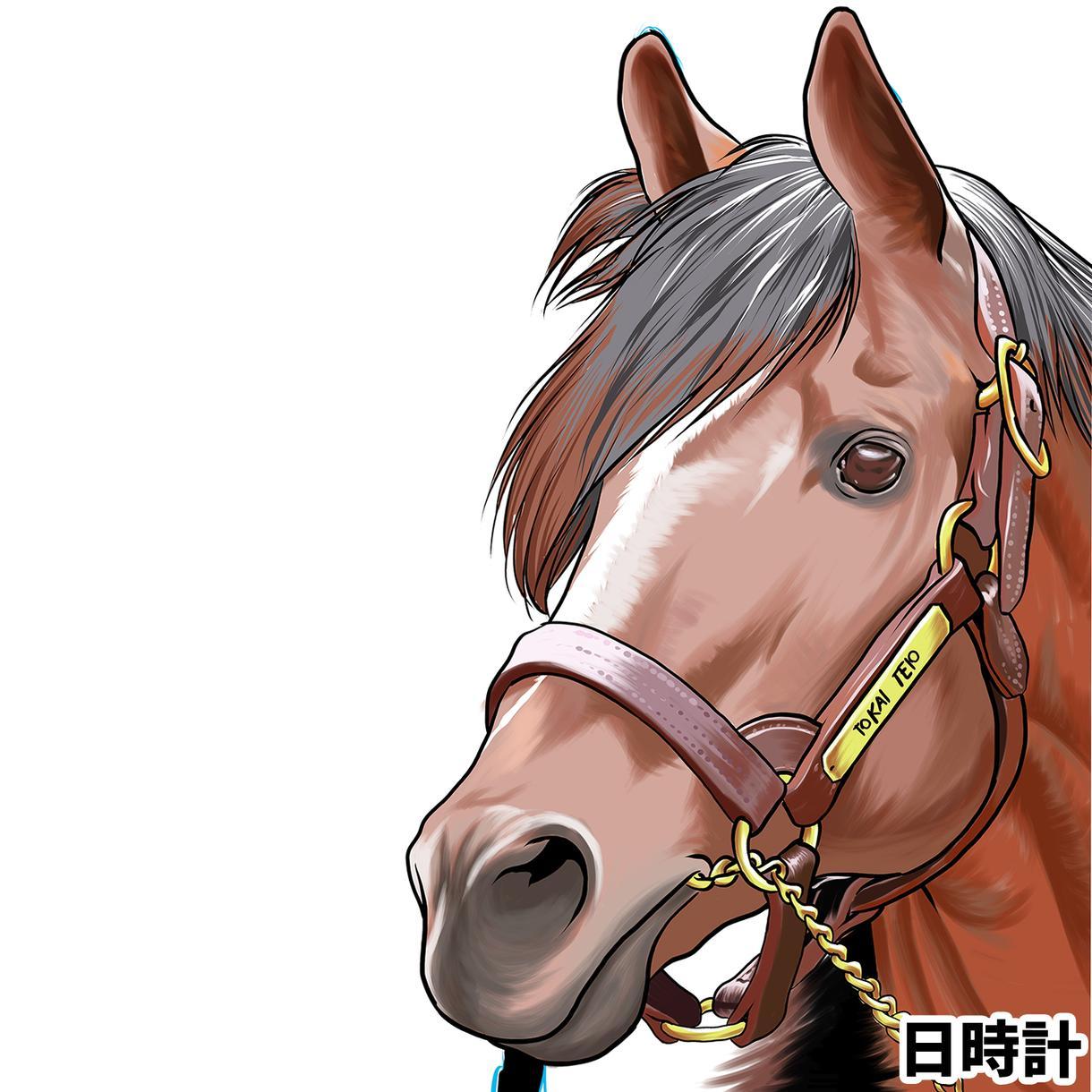 競馬のイラスト何でも制作します 好きな馬、好きな騎手、好きなレース、どんな依頼でも制作OK!
