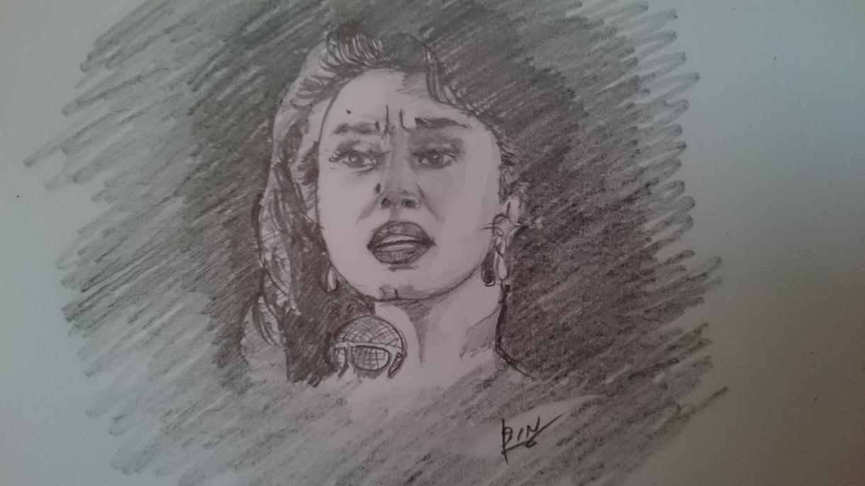 """鉛筆または色鉛筆でシンプルな似顔絵をお描きます あらゆる記念日の""""その時""""を写真ではなく""""絵""""で残しましょう"""