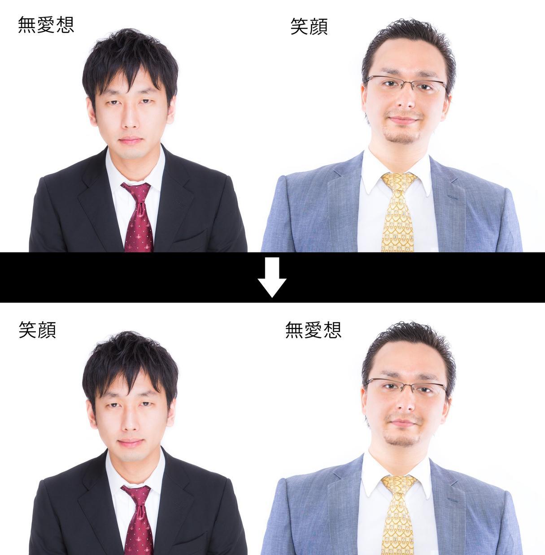 表情を整えて最高の一枚にします 【表情補正】現役レタッチャーがお助けします