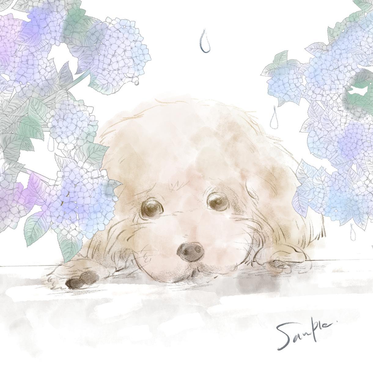 動物イラスト制作します ペットや好きな動物のイラスト制作します