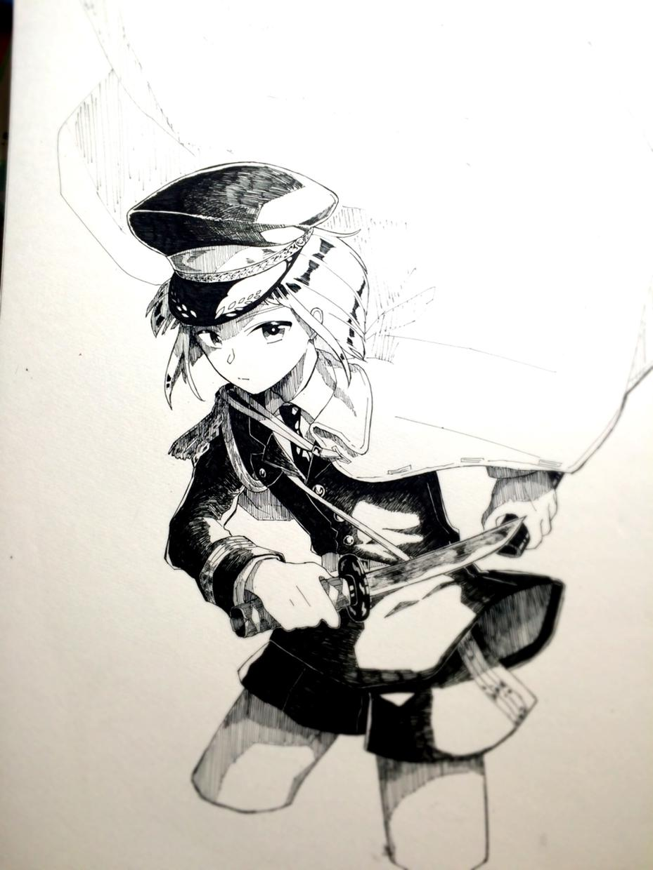 ボールペンでイラスト描きます アナログならではのイラストはいかがですか?