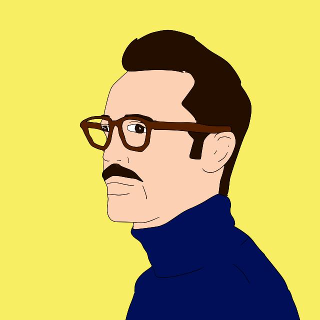 シンプルな似顔絵を描きます 写真を元に、シンプルなデザインの似顔絵を描きます。