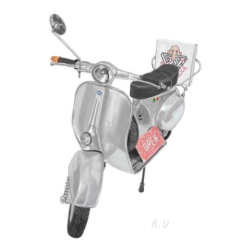 あなたの「好きなもの」イラストにします クルマ、バイク、どんなものでもあなたの「好き」をイラストに!