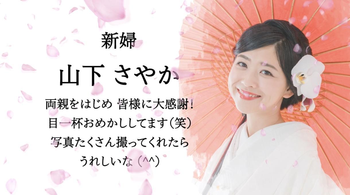 桜吹雪が美しい和装向けオープニングムービー作ります DVD化・送料込み!お手軽価格で必要十分な内容を!