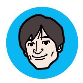 シンプルでポップな似顔絵イラスト作成します SNSアイコンやプレゼントにピッタリなシンプル似顔絵