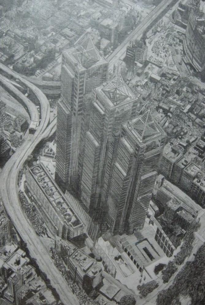 先着【5名】⭐️鉛筆で建物を描きます マイホームを購入した記念に。取り壊される小学校の思い出に。 イメージ1