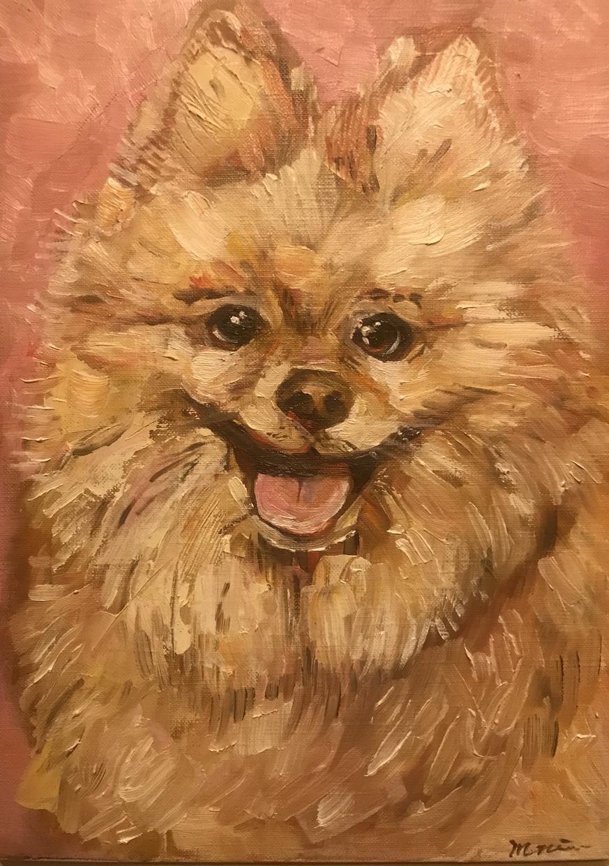 ペットの油絵を描きます 写真とはまた違った温かみのある絵画を制作します。 イメージ1