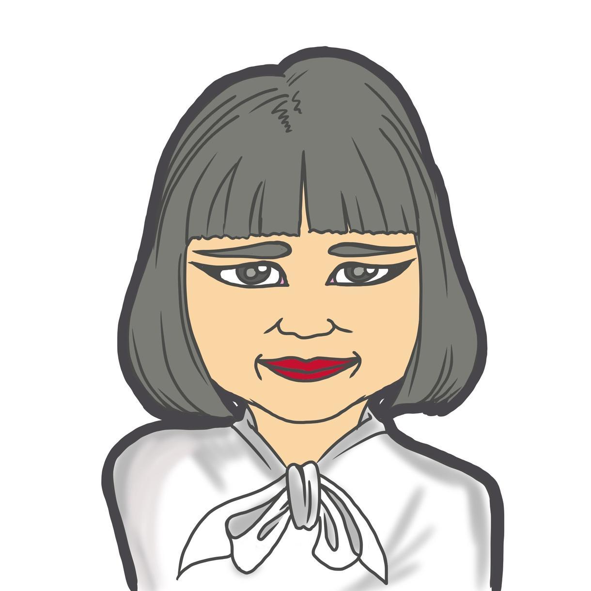 SNSアイコン名刺等 シンプル似顔絵描きます ちょっとかわいいデフォルトイラスト イメージ1