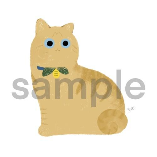 ペットの猫やオリジナルの猫描きます ペットの猫は勿論、オリジナル猫のオーダーも可! イメージ1