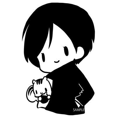 単色ゆるふわアニマル描きます ゆるっと可愛い動物さんをお届けします。