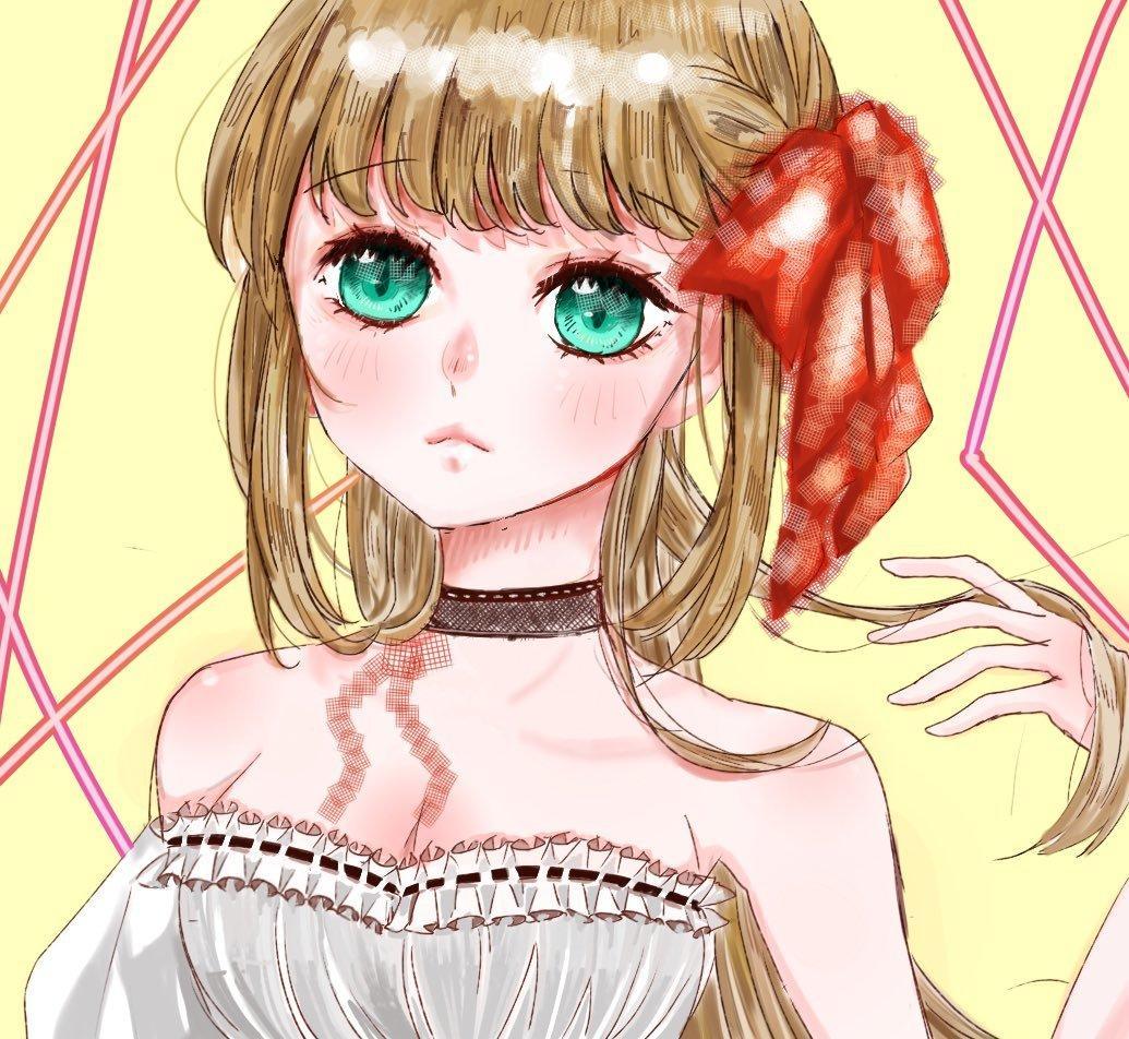 主にアイコン用のイラストを描いてます お顔メインのキレイめ女の子イラスト描きます! イメージ1