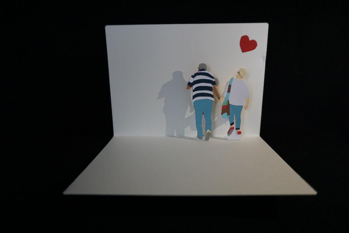 大切な方へ世界に一つだけのとびだすカードを作ります とびだすカードで、あなたの思いを伝えるお手伝いをします。