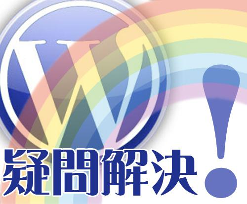 WordPressの『困った!』を、ワンコインで相談に乗ります!