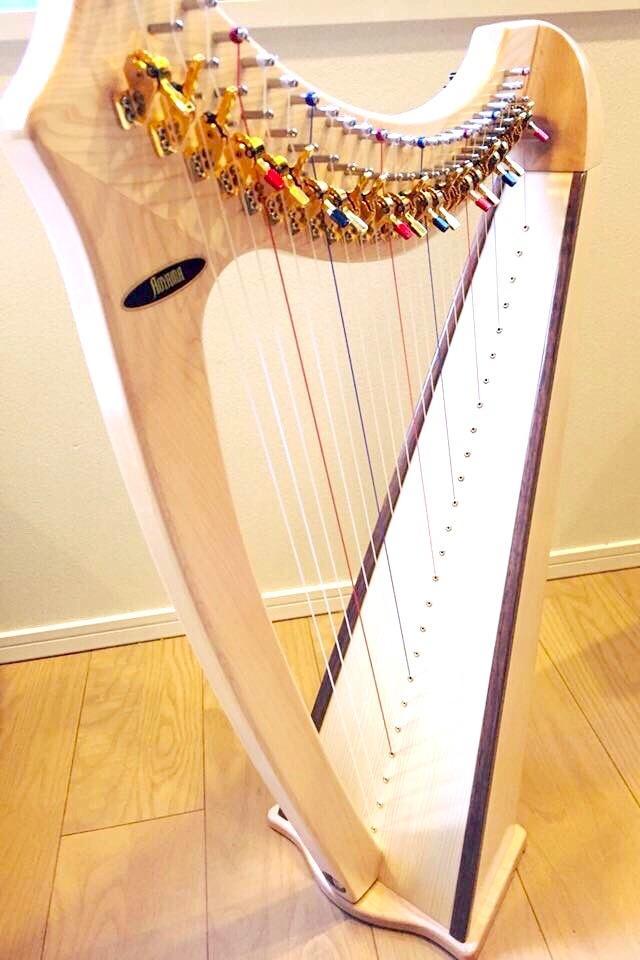 ハープの作曲、演奏承ります BGMやイメージソング、癒しのオリジナル曲など演奏致します。