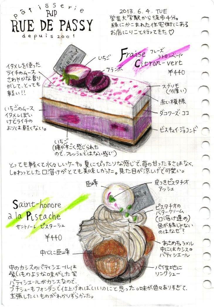 【美味しそう!リアル!】ケーキのイラスト描きます!パティシエ経験あり、細かいこだわりまで描きます★
