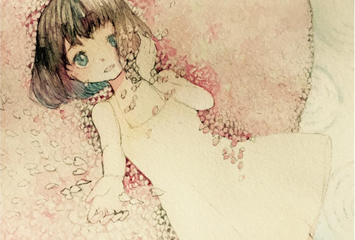 ほんわり水彩でイラストを描きます LINEやTwitterのアイコンや壁紙ヘッダーなどに