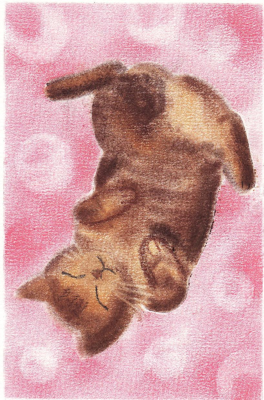 ペットさんをふんわりパステルで描かせていただきます