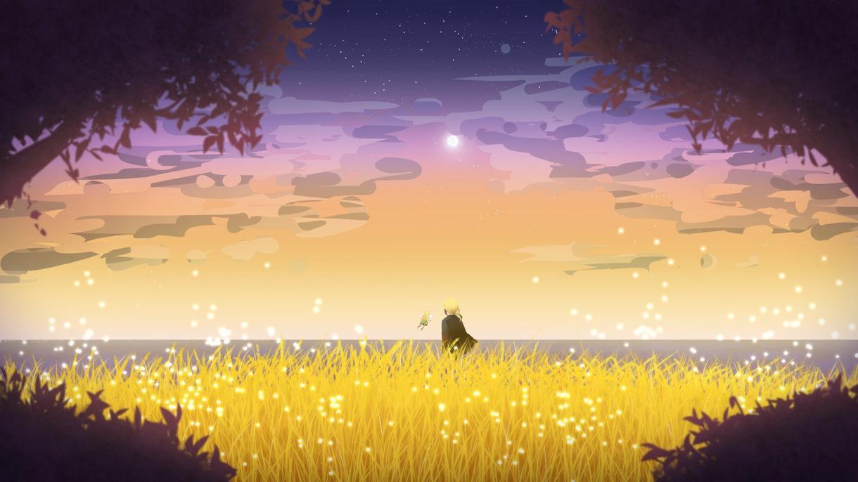 夜のイラスト描きます 星空、夜空、夜景のイラストを求めているかた!!