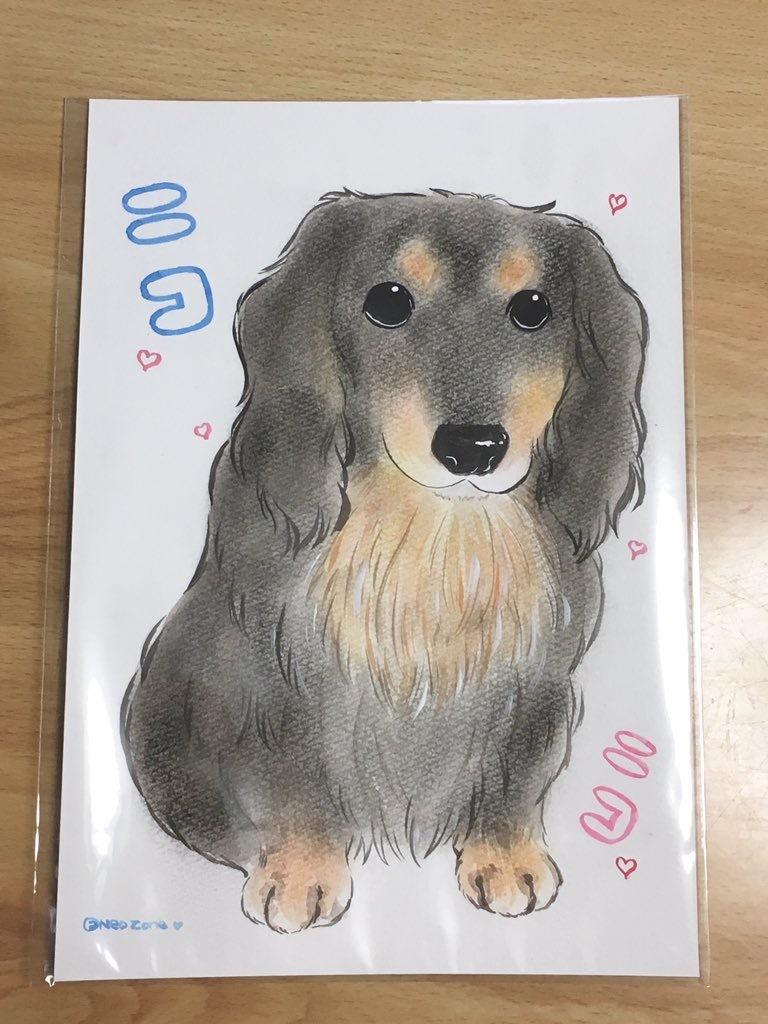 ペットの似顔絵お描きします 大切なペットの思い出を形にしたい方へ